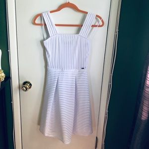 Armani Exchange White Summer Dress